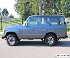 1990 Toyota Land Cruiser FJ62 for Sale