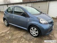 TOYOTA AYGO 1.0 BLUE ** 2008 58 ** BLUETOOTH PHONE ** Spares or Repairs **
