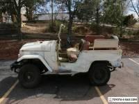1962 Toyota Land Cruiser FJ40