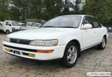 1993 Toyota Corolla for Sale