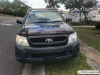 2009 toyota hilux workmate ute