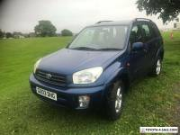 Toyota Rav 4 VVTI Auto 2.0L Petrol Mot till 29th May
