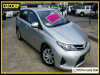 2014 Toyota Corolla ZRE182R Ascent Silver Automatic 7sp A Hatchback