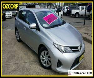 2014 Toyota Corolla ZRE182R Ascent Silver Automatic 7sp A Hatchback for Sale