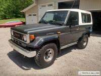 1980 Toyota Land Cruiser LX