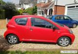 Toyota Aygo VVT-I Red Hatchback 2008 Low 47200 Mileage for Sale
