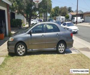 2006 Toyota Corolla S for Sale