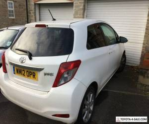 Toyota Yaris 2012 Perfect Condition, MOT 1yr, 68k miles, SatNav & Bluetooth. for Sale