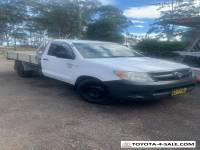 toyota hilux workmate 2007
