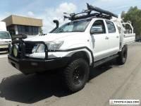 2012 Toyota Hilux KUN26R MY12 SR5 Double Cab Automatic 4sp A Utility