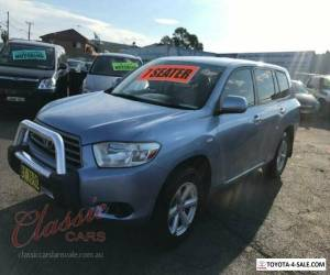 2007 Toyota Kluger GSU40R KX-R (FWD) 7 Seat Blue Automatic 5sp A Wagon for Sale