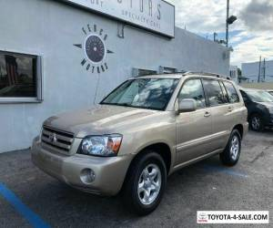 2006 Toyota Highlander 2WD with 3rd-Row Seat for Sale