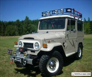 1970 Toyota Land Cruiser SUV Base Sport Utility 2-Door for Sale