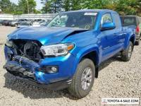 2017 Toyota Tacoma 4x4 Access Cab 127.4 in. WB SR5 V6