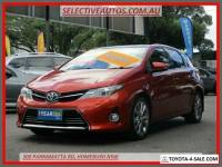 2013 Toyota Corolla ZRE182R Levin ZR Orange Manual 6sp M Hatchback