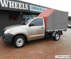 2009 Toyota Hilux TGN16R 09 Upgrade Workmate Bronze Manual 5sp M Cab Chassis for Sale