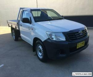 2013 Toyota Hilux TGN16R MY12 Workmate Cab Chassis Single Cab 2dr Auto 4sp, 4x for Sale