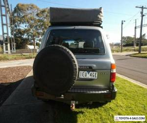1994 Toyota Landcruiser GXL (4x4) Grey Automatic 4sp A Wagon for Sale
