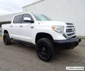2014 Toyota Tundra 1794 Edition Extended Crew Cab Pickup 4-Door 4X4 Lifted Truck for Sale