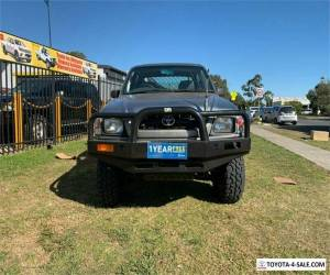 2002 Toyota Hilux KZN165R Silver Manual M Utility for Sale