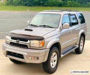 2001 Toyota 4Runner No reserve Limited Supercharged 4x4 for Sale