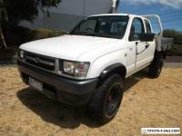 2000 Toyota Hilux KZN165R (4x4) Manual 5sp M Cab Chassis