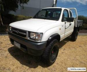 2000 Toyota Hilux KZN165R (4x4) Manual 5sp M Cab Chassis for Sale