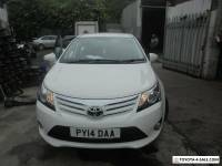 2014 TOYOTA AVENSIS ICON VALVEMATIC ESTATE IN WHITE