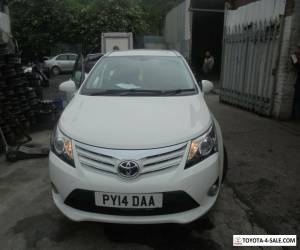 2014 TOYOTA AVENSIS ICON VALVEMATIC ESTATE IN WHITE for Sale