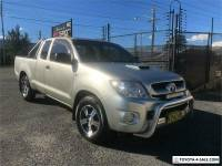 2005 Toyota Hilux SR Silver Manual M Extracab
