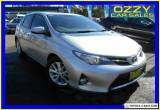 2015 Toyota Corolla ZRE182R Ascent Sport Silver Automatic 7sp A Hatchback for Sale