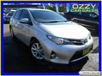 2015 Toyota Corolla ZRE182R Ascent Sport Silver Automatic 7sp A Hatchback