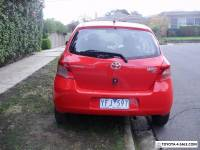 2006 Toyota Yaris NCP90R YR Red 5spd Manual