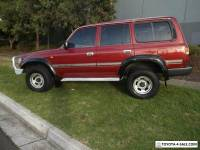 1998 Toyota Landcruiser FZJ105R GXL (4x4) Red Automatic 4sp A Wagon