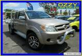 2005 Toyota Hilux GGN25R SR5 (4x4) Bronze Manual 5sp M X Cab Pickup for Sale