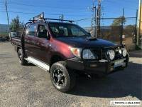 2005 Toyota Hilux KUN26R SR Dark Red Manual M Cab Chassis