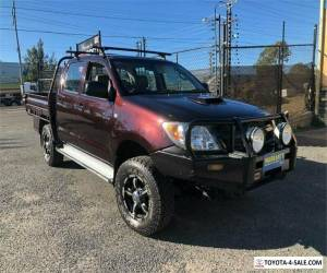 2005 Toyota Hilux KUN26R SR Dark Red Manual M Cab Chassis for Sale