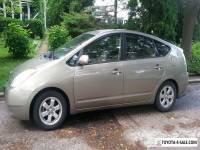 2005 Toyota Prius Brown / Tan