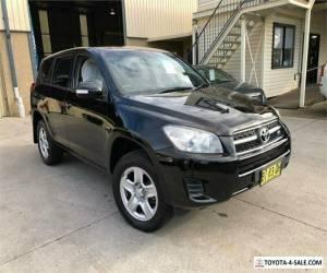 2010 Toyota RAV4 GSA33R CV6 Black Automatic A Wagon for Sale