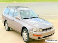 1992 Toyota Camry No Reserve 89k Miles Wagon LE