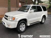 2002 Toyota 4Runner RARE * PEARL WHITE * 1 OWNER