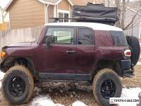 2007 Toyota FJ Cruiser Base model with modifications