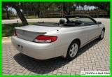 2001 Toyota Solara SLE V6 65,338 Low Miles Clean Carfax for Sale