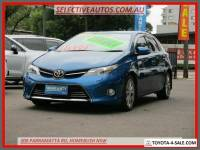 2014 Toyota Corolla ZRE182R Levin ZR Blue Automatic 7sp A Hatchback