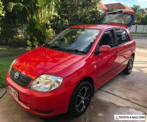 Toyota Corolla Hatch 2003 Manual Red for Sale