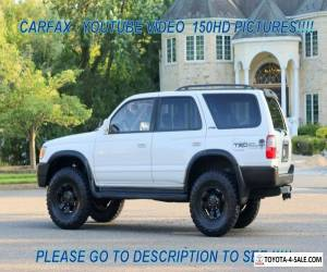 1998 Toyota 4Runner Great Condition New Lift kit Tires Serviced 1Owner for Sale