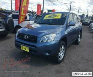2007 Toyota RAV4 ACA33R CV (4x4) Blue Automatic 4sp A Wagon for Sale