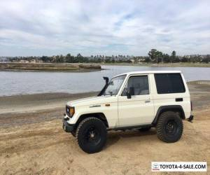 1988 Toyota Land Cruiser LJ70 for Sale