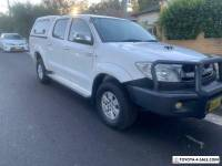 2009 Toyota Hilux SR5 (4X4) 5 speed Turbo diesel immaculate condition.