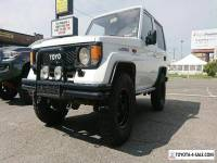 1987 Toyota Land Cruiser Lx